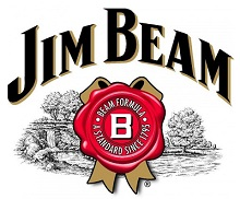 jim beam bourbon whisky znacka logo