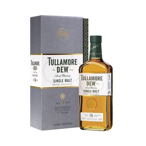 tullamore dew single malt 14 yo whisky alkohol